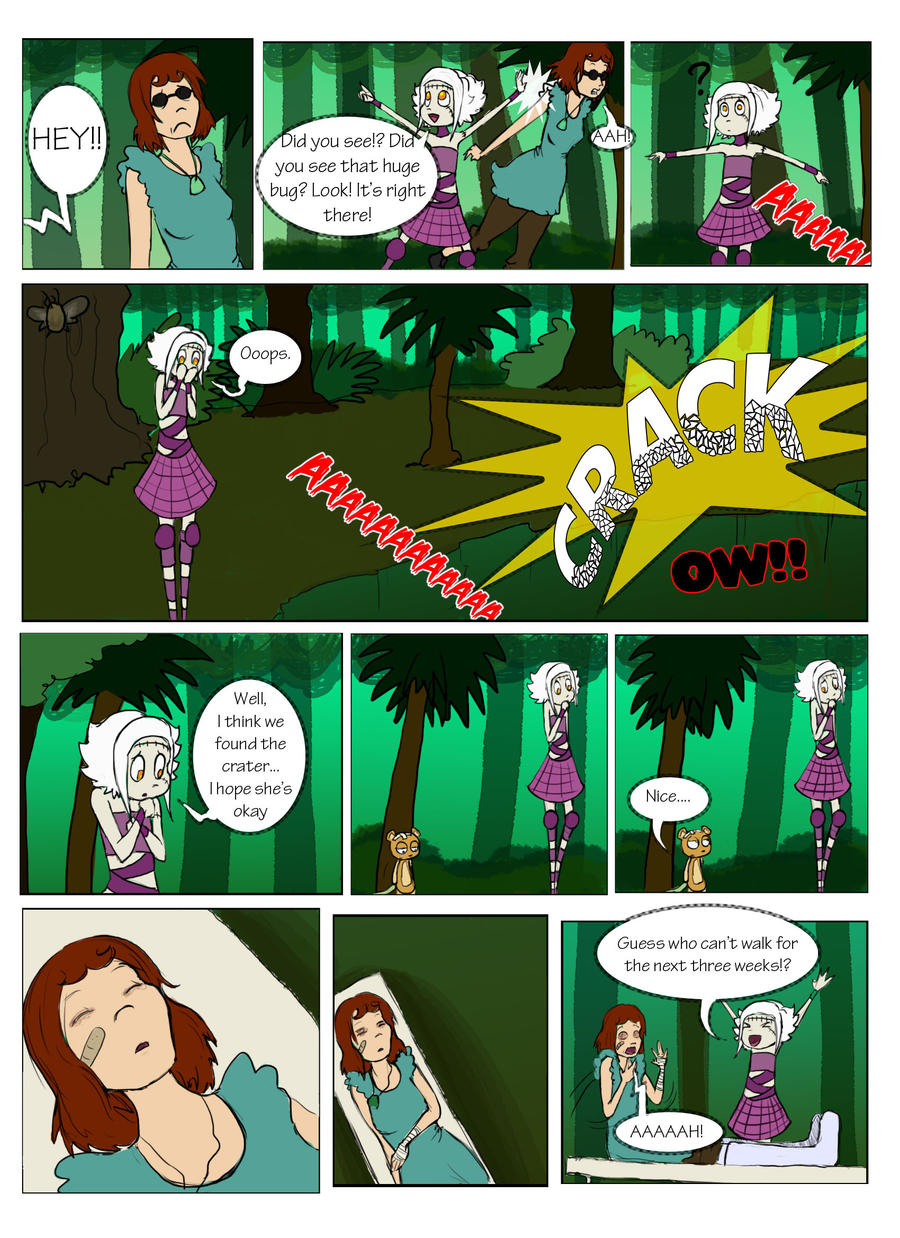 Tce round one page 10 by mel mels on deviantart for Mel s fish shack
