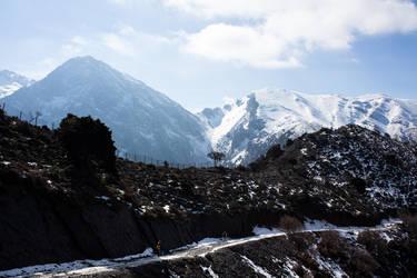 Mountain hiking by kingmouf