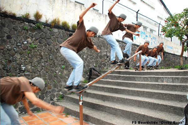 FS Boardslide Downrail by cd-13