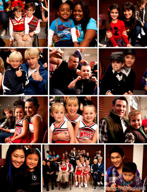 Are Any Of The Glee Cast Members Hookup