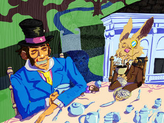Hatter and Hare's Party
