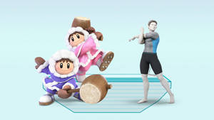 Ice Climbers Vs. Male Wii Fit Trainer