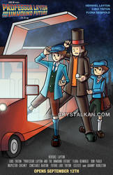 Professor Layton to the Future by wizardofkitty