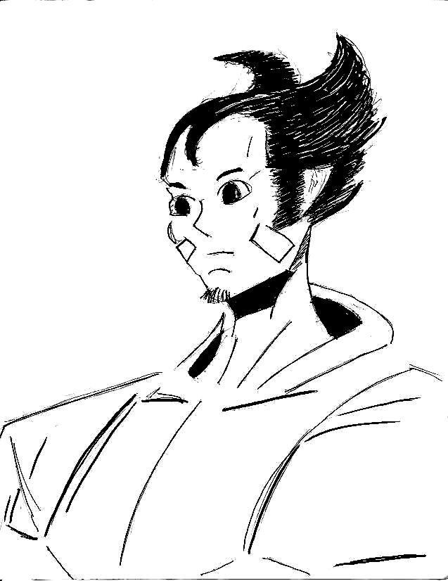 Manga Wolverine by 1niteknightgoes