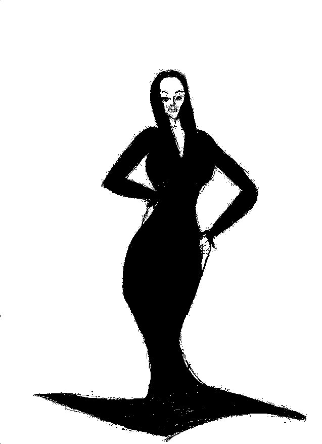 Mrs Addams by 1niteknightgoes