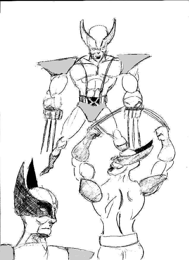 Wolverine by 1niteknightgoes