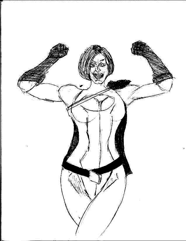 Powergirl by 1niteknightgoes