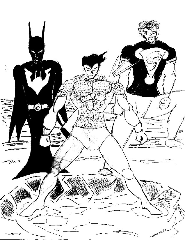 The Future justice league by 1niteknightgoes