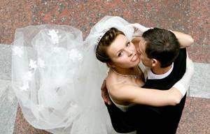 bride portrait in moscow by knazz