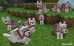 Minecraft Wolves