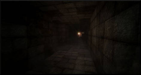 Minecraft 'Chrome' - Light of the Tunnel by Rebecca1208