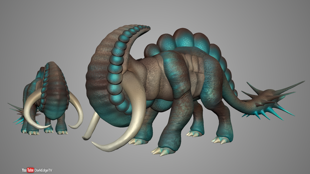 Playing with Sculptris #13 - Tektyx's Pogto by Rebecca1208