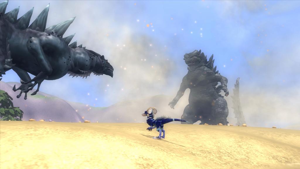 Random Spore Screenshot - Zilla vs. Godzilla by Rebecca1208