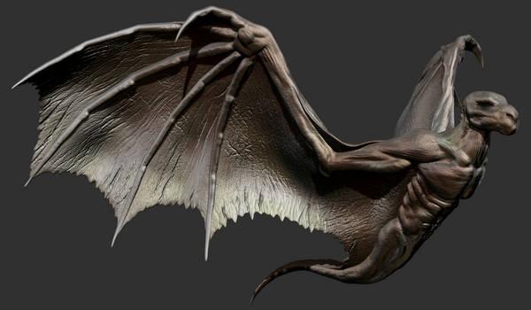 ZBrush - Wings Study 1