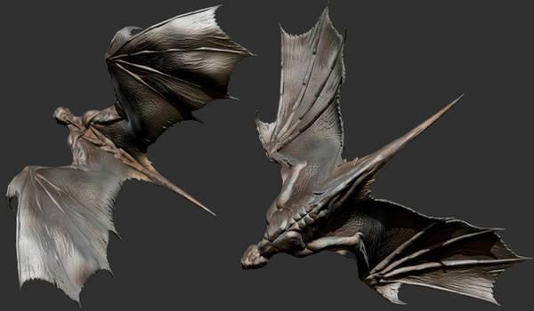 ZBrush - Wings Study 2