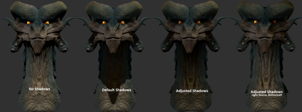 Nemesyth Bust Render Test Comparison by Rebecca1208