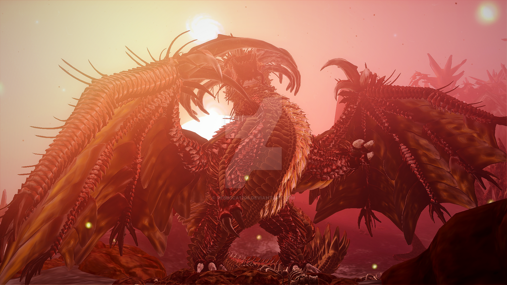 Spore - Red Dragon Megabuild by Rebecca1208