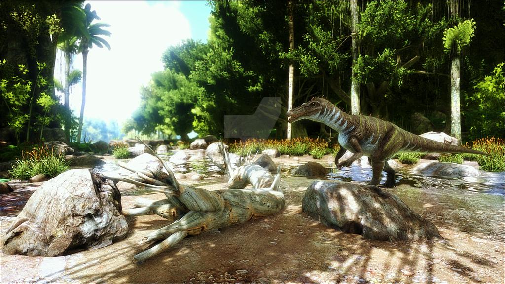 ARK Ansel - Swamp Baryonyx by Rebecca1208