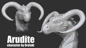 Arudite TEXTURELESS - COMMISSION ZBrushCore