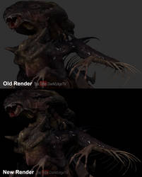 Presentation Test - Draconic Xenomorph by Rebecca1208