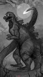MonsterMarch - Shin Gozilla by Rebecca1208