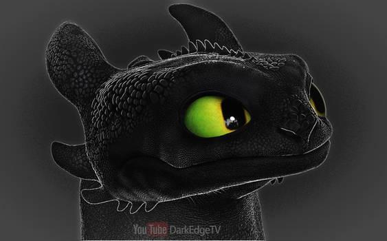 Toothless, Nightfury Portrait (again) - ZBrushCore