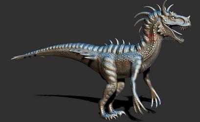 Char Raptor - ZBrush