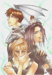 Saiyuki - Fantaztik 4 by pika