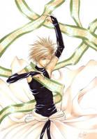 Saiyuki - Sanzo for Shiranami by pika