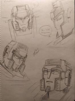 Astrotrain head studies
