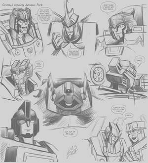 Cyberverse sketches