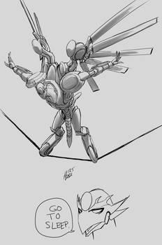 Neutralzone - balancing on a wire