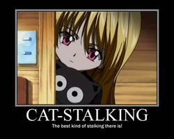 Eve Cat Stalking by artsiigirl248