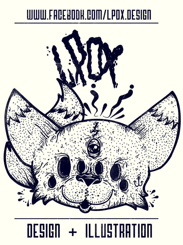 Lpox Design and Illustration by poxllomonje