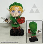 Beaded doll: Link (Legend of Zelda)