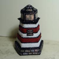Lighthouse bead box by crafty-maika