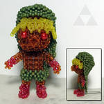 Beaded doll: Deku Link (Majora's Mask)
