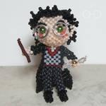 Beaded doll: Harry Potter