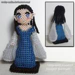 Beaded doll: Arwen by crafty-maika