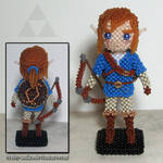 Beaded doll: Link (Breath of the Wild)
