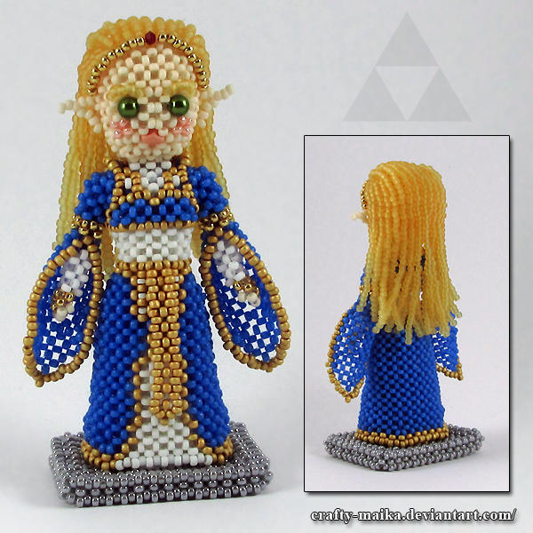 Bead doll: Zelda (Breath of the Wild)