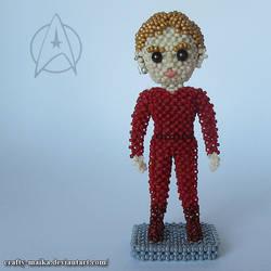 Beaded doll: Kira Nerys