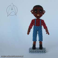 Beaded doll: Jake Sisko