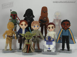 Beaded cast: Star Wars V - The Empire Strikes Back