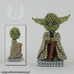 Bead doll: Yoda (ESB)