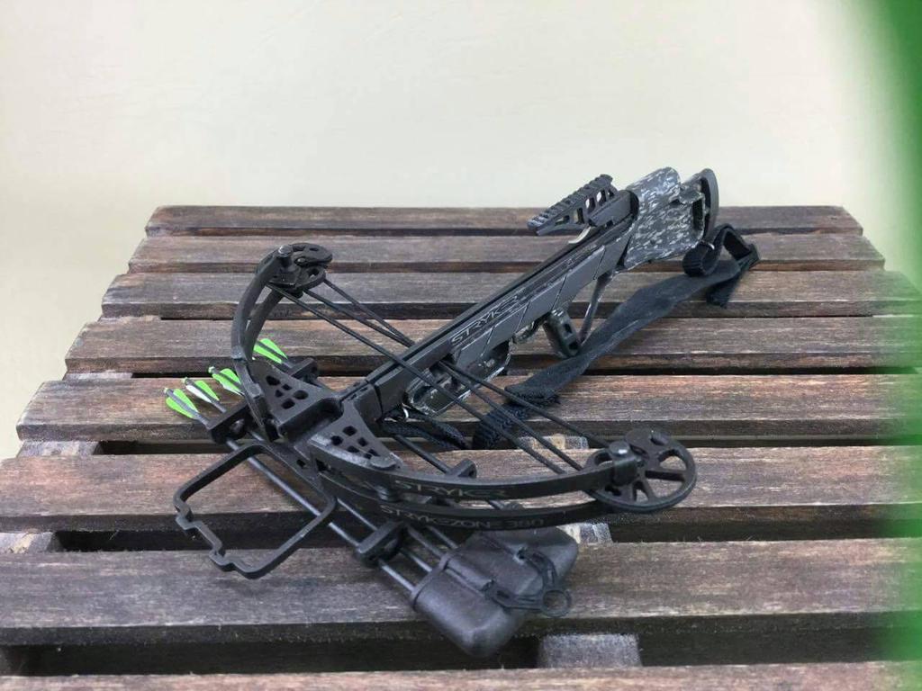 custom 16 daryl dixon stryker crossbow by mpalmer1194 on