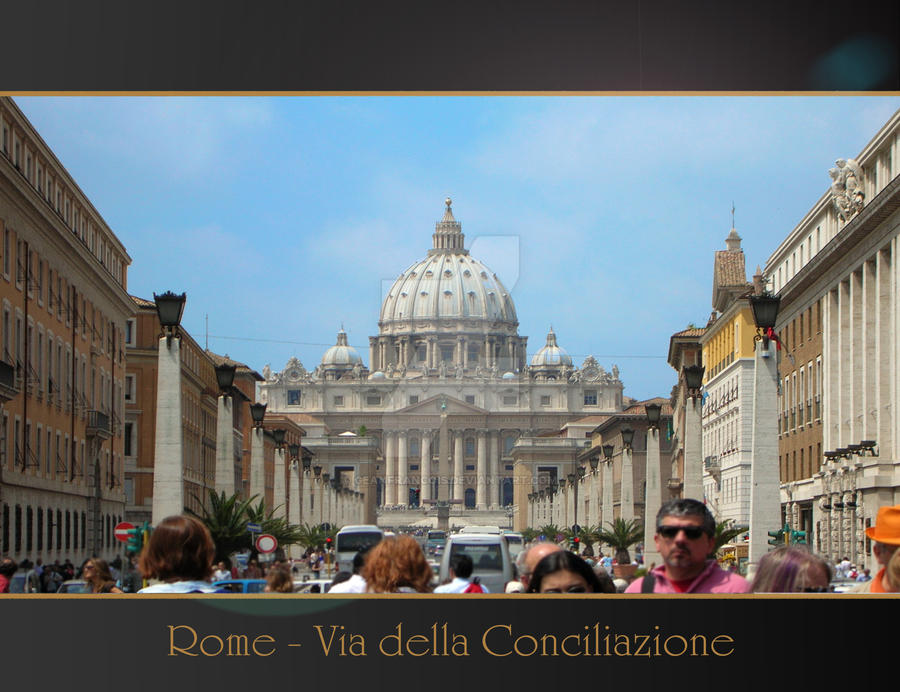 Rome Anthology - Concilazione by Geanfrancois