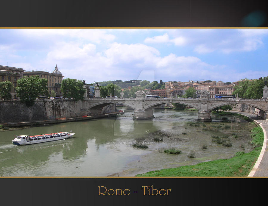 Rome Anthology - Tiber by Geanfrancois
