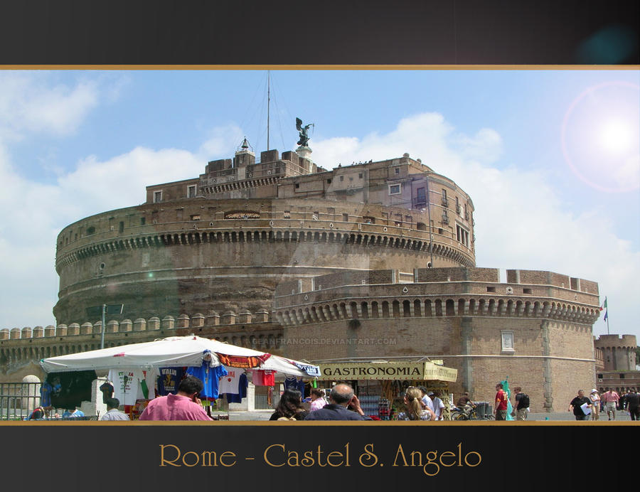 Rome Anthology - Angel Castel by Geanfrancois
