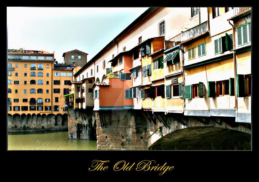 Ponte Vecchio by Geanfrancois